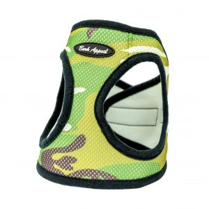 camo mesh step-in dog harness