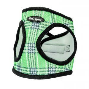 Lime Green Mesh Dog Harness