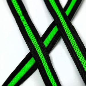neon green dog leash