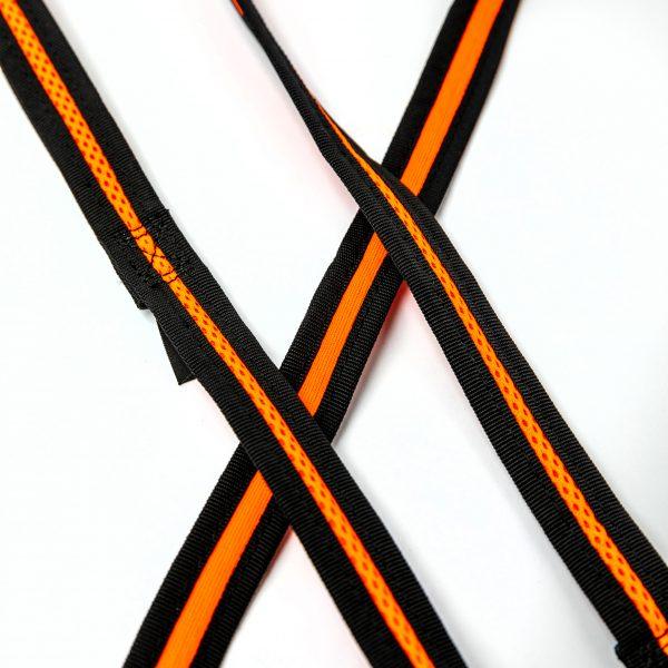 neon mesh dog harness