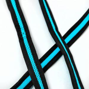 aqua mesh dog harness detail
