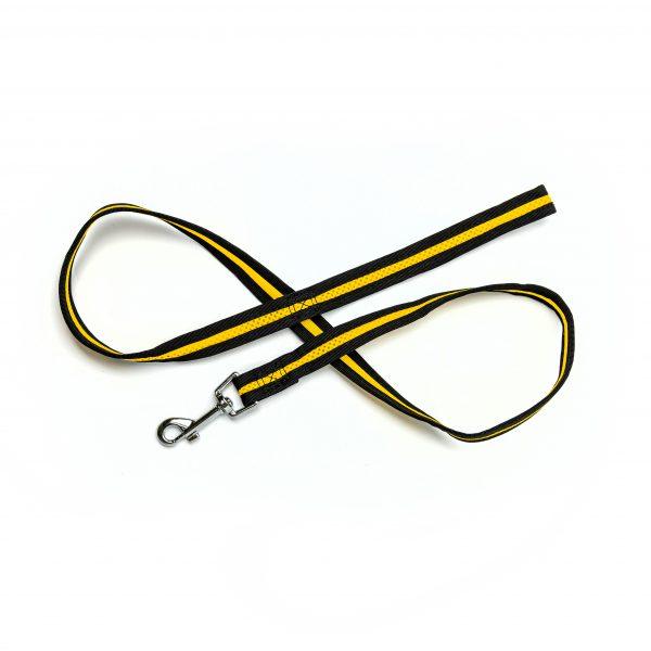 yellow mesh leash