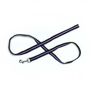 purple mesh dog leash