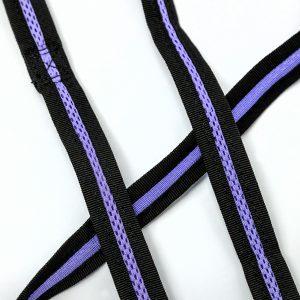 Lavender mesh pet leash