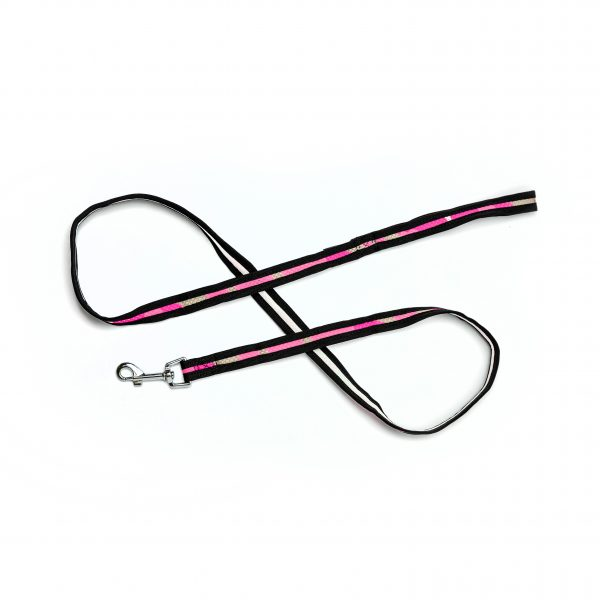 pink camouflage mesh leash
