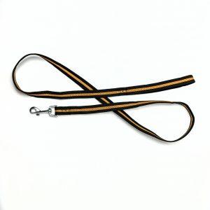 tan brown mesh dog leash