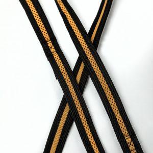 tan brown mesh dog leash detail