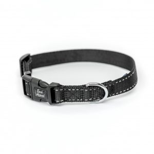 Black Reflective Trim Collar