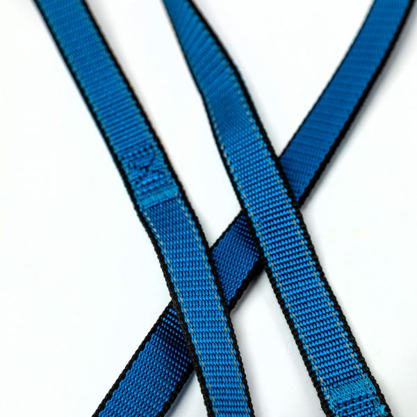 royal blue reflective trim leash