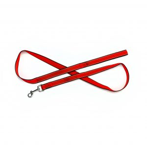 Red Reflective Trim Leashes 5'