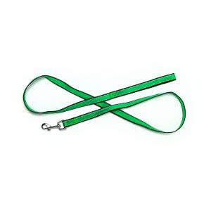 green reflective trim leash